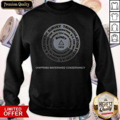 Original Bundy 1932 Chippewa Watershed Conservancy Sweatshirt