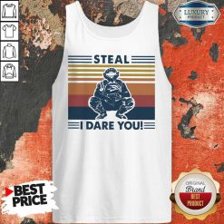 Perfect Steal I Dare You Vintage Tank Top