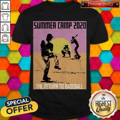 Perfect Summer Camp 2020 Baseball Shirt