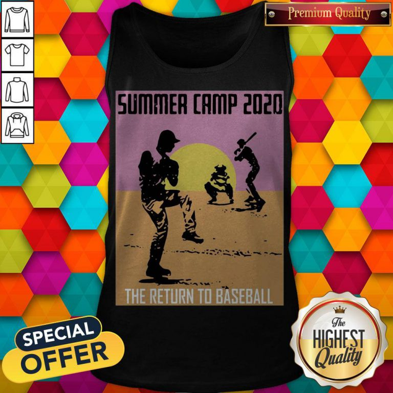Perfect Summer Camp 2020 Baseball Tank Top
