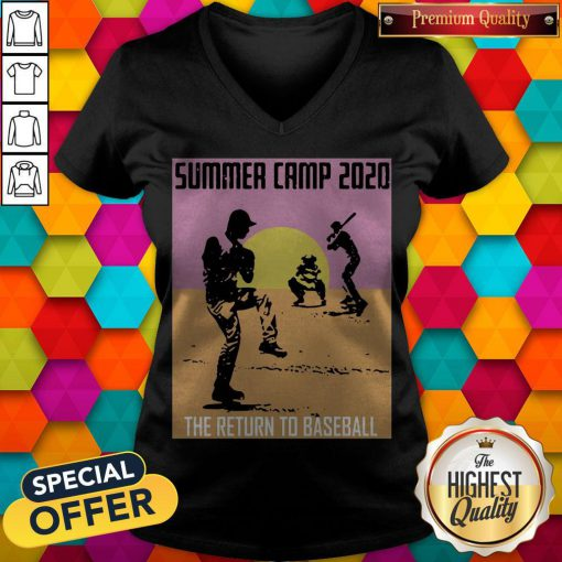 Perfect Summer Camp 2020 Baseball V-neck