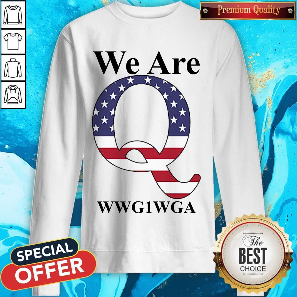 Perfect We Are Q Sweatshirt