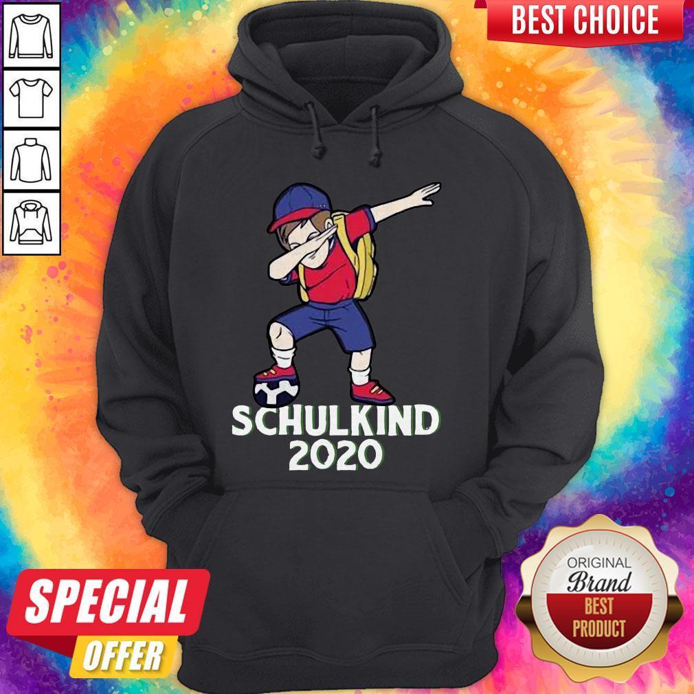 Premium Fußball Schulkind 2020 Erstklässler Geschenk Einschulung Hoodie