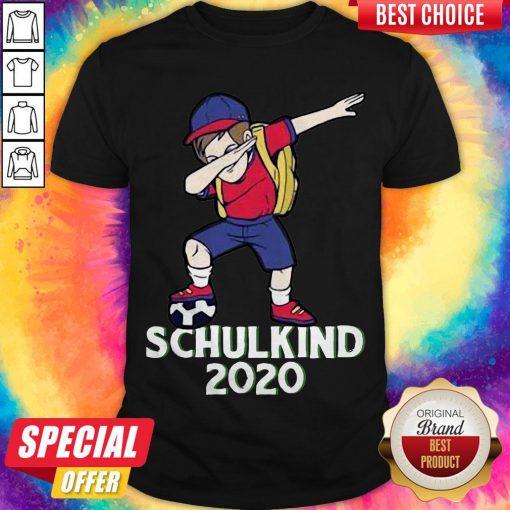 Premium Fußball Schulkind 2020 Erstklässler Geschenk Einschulung Shirt