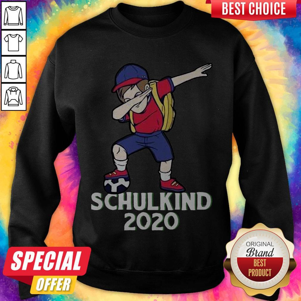 Premium Fußball Schulkind 2020 Erstklässler Geschenk Einschulung Sweatshirt