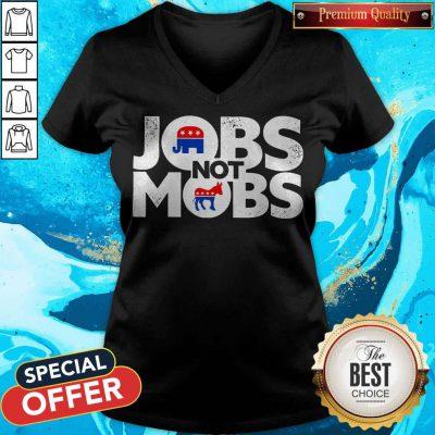 Premium Jobs Not Mobs V-neck