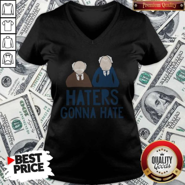 Premium The Muppets Haters Gonna Hate V-neck