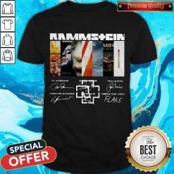 Good Rammstein Band Members Signatures Shirt