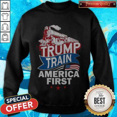 Awesome Join The Trump Train Sweatshirt