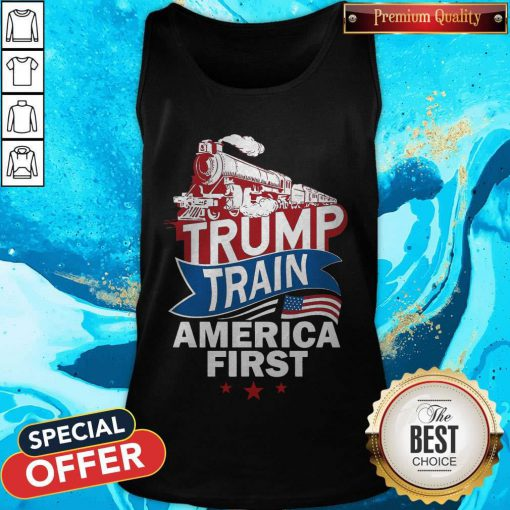 Awesome Join The Trump Train Tank Top