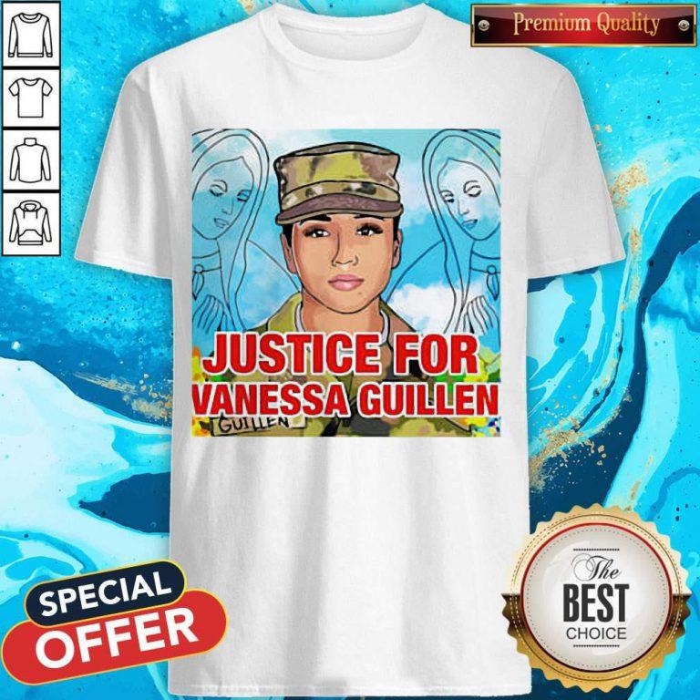Top Justice For Vanessa Guillen Shirt