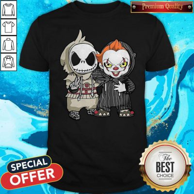 Jack Skellington And Pennywise Friend Happy Halloween Shirt