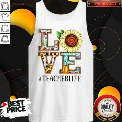 Love Sunflower #Teacherlife Tank Top