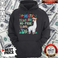 Math Teacher Shirt Llama Back To First Day Of School Gift T Shirt