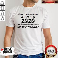 New Hampshire Teachers 2020 The One Where They Were Quarantined 2020 T Shirt