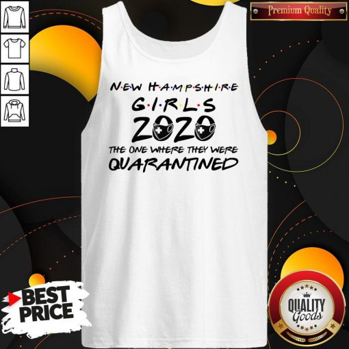 New Hampshire Teachers 2020 The One Where They Were Quarantined 2020 T Tank Top