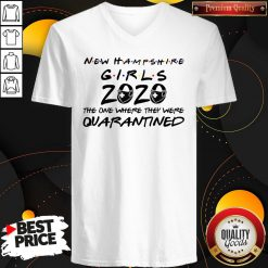 New Hampshire Teachers 2020 The One Where They Were Quarantined 2020 T V-neck