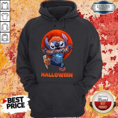 Nice Michael Myers Stitch Kroger Halloween Hoodie