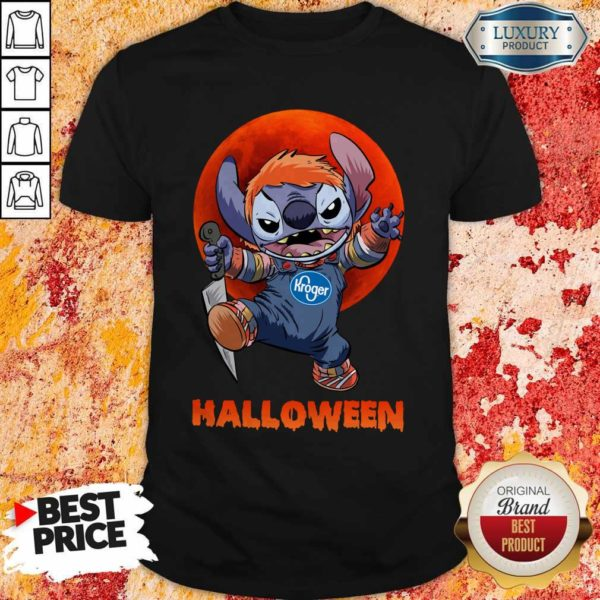 Nice Michael Myers Stitch Kroger Halloween ShirtNice Michael Myers Stitch Kroger Halloween Shirt