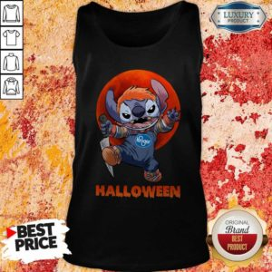 Nice Michael Myers Stitch Kroger Halloween Tank Top