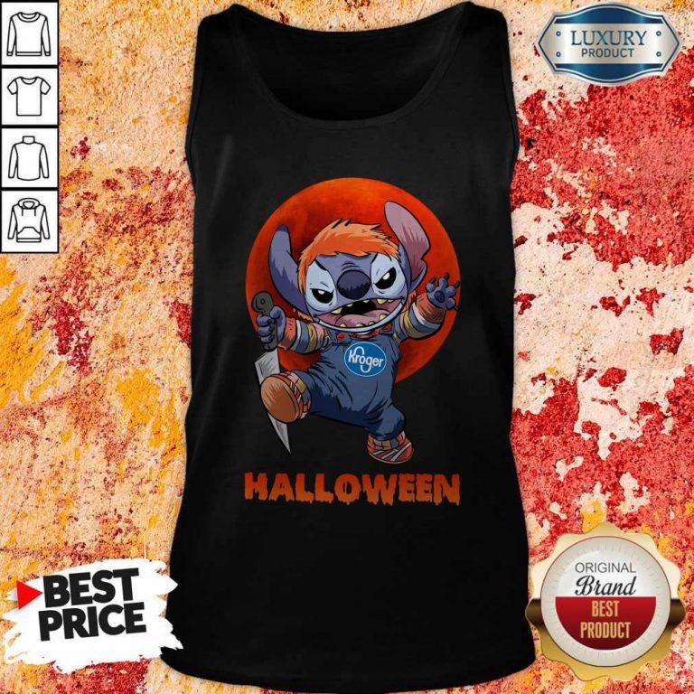 Nice Michael Myers Stitch Kroger Halloween Tank Top