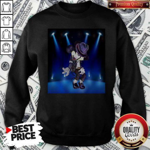 Nice Mickey Michael Jackson Dancing Sweatshirt