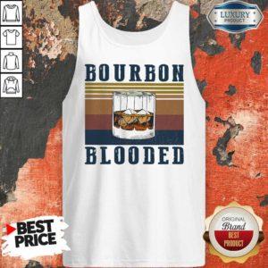 Nice Wine Bourbon Blooded Vintage Tank Top