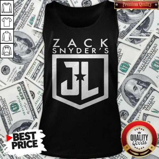 Nice Zack Snyder Justice League Tank top