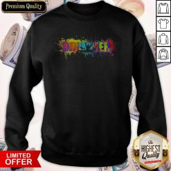 Official Drummer Colorful Sweatshirt