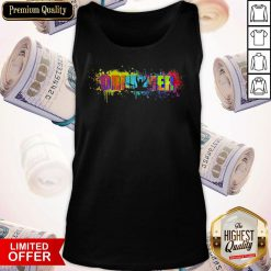 Official Drummer Colorful Tank top