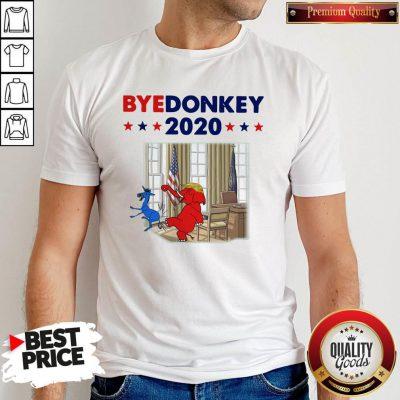 Official Elephant Trump Bye Donkey 2020 Shirt