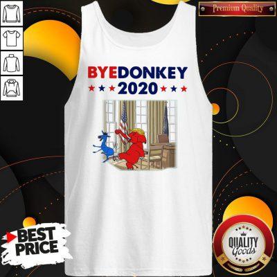 Official Elephant Trump Bye Donkey 2020 Tank top