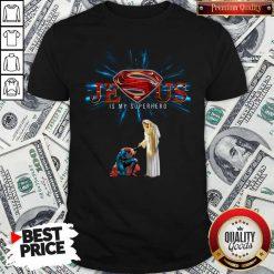 Official Jesus Is My Superhero Shirt