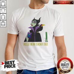 Official Maleficent Nicest Mean Teacher Ever Shirt
