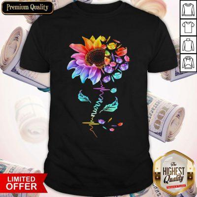 Official Nurse Colorful Sunflower Shirt