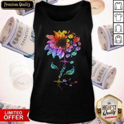 Official Nurse Colorful Sunflower Tank top