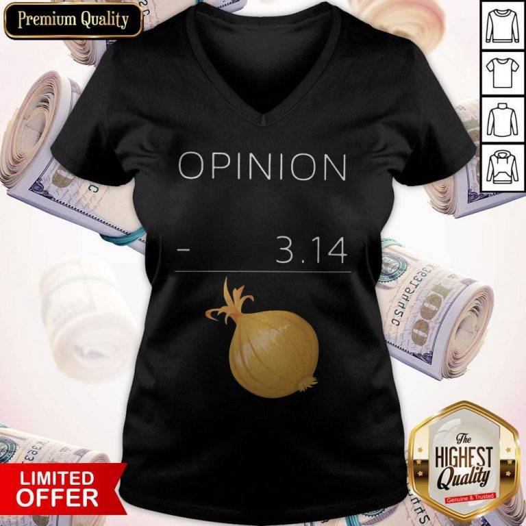 Official Opinion 3 14 Onion V-neck