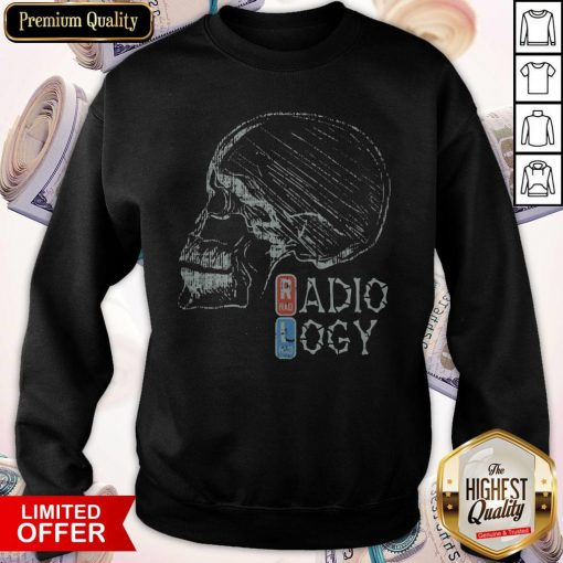 Official Radiology Skull Sweatshirt