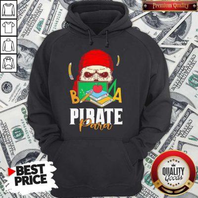 Official Skull Book Pirate Para Hoodie