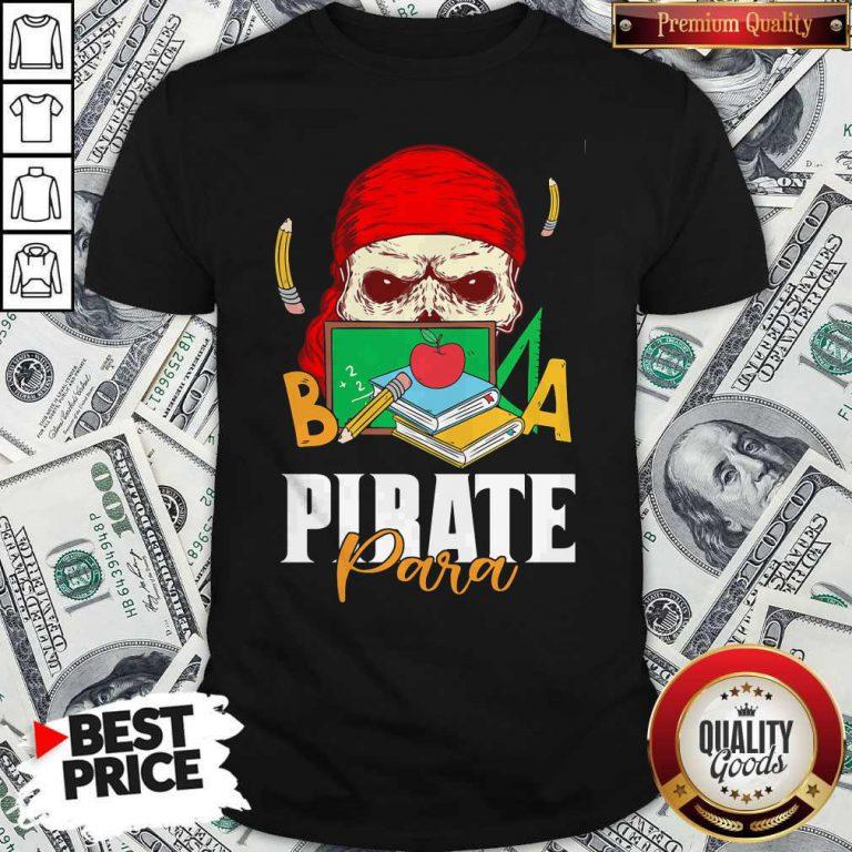 Official Skull Book Pirate Para Shirt