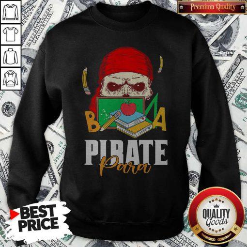 Official Skull Book Pirate Para Sweatshirt
