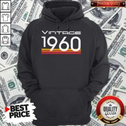 Official Vintage 1960 Vintage Retro Hoodie