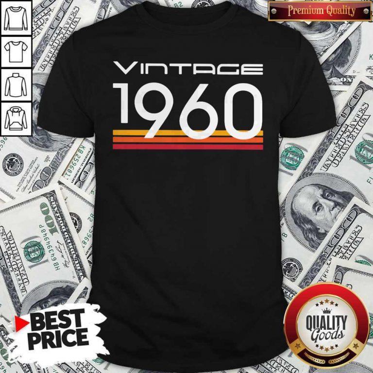 Official Vintage 1960 Vintage Retro Shirt