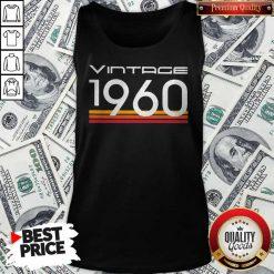 Official Vintage 1960 Vintage Retro Tank-top
