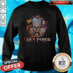 Pennywise I Hate People Sweatshirt