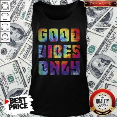 Premium Good Vibes Only Tank Top