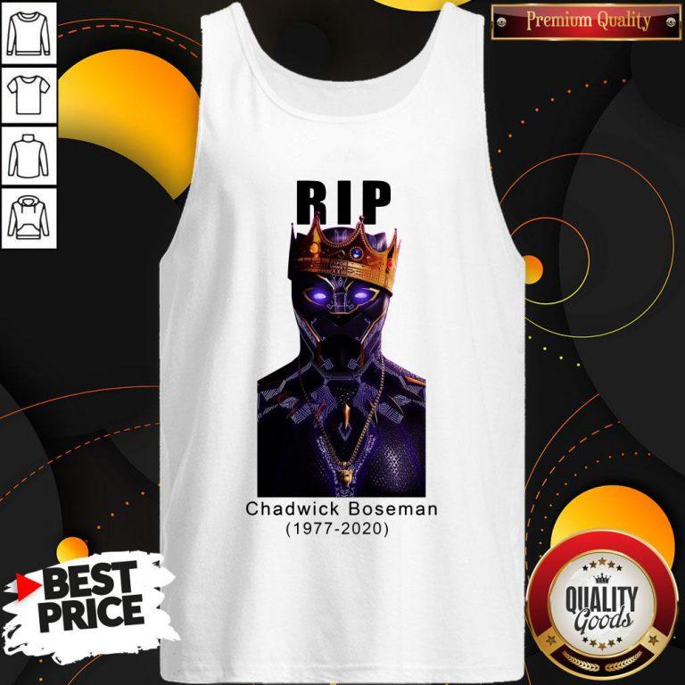 Rip Black Panther 1977 2020 Tank Top