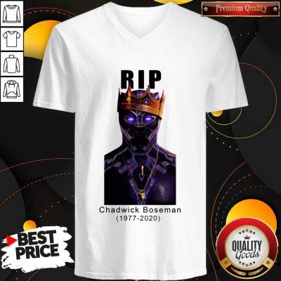 Rip Black Panther 1977 2020 V-neck