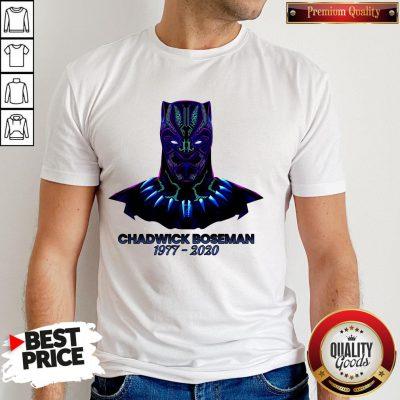 RIP Black Panther's Chadwick Boseman 1977 2020 T-Shirt