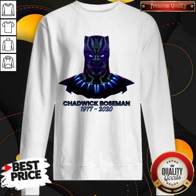 RIP Black Panther's Chadwick Boseman 1977 2020 T-Sweatshirt